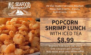 Popcorn Shrimp Lunch Coupon