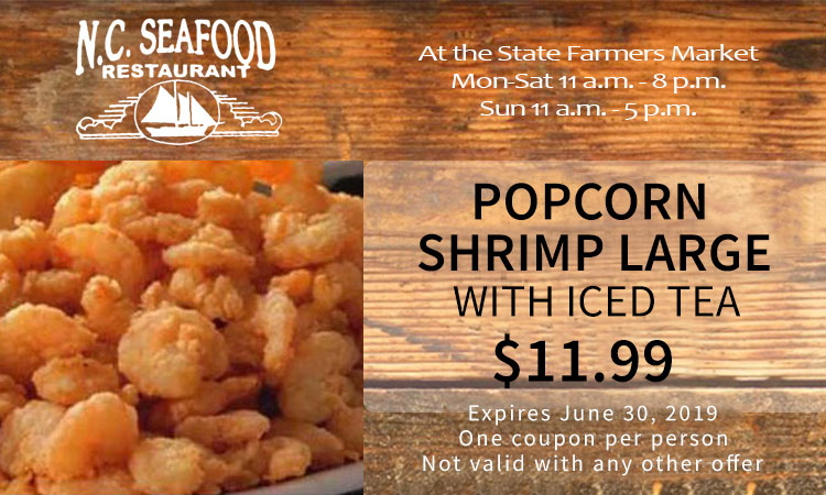 Popcorn Shrimp Lunch Coupon | Expires June 30th