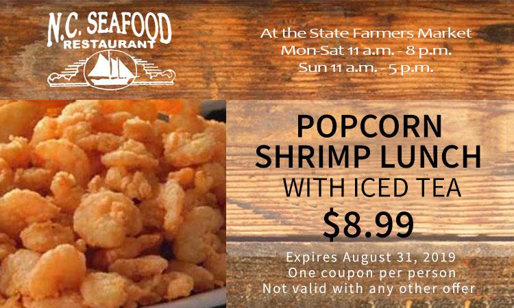 Coupons - NC Seafood Restaurant