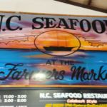 NC Seafood at the State Farmers Market